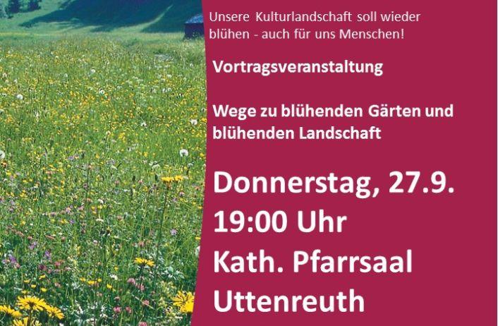 Uttenreuth wird bienenfreundliche und pestizidfreie Kommune