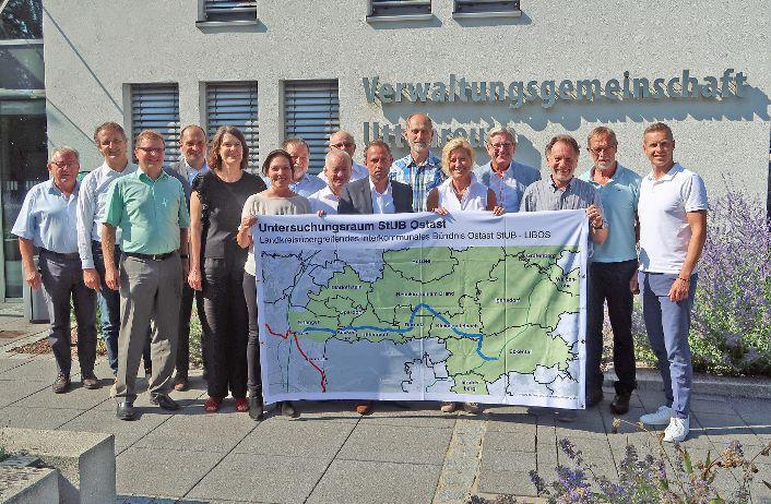 Bayerns Umweltminister Thorsten Glauber zu Besuch in der VG Uttenreuth